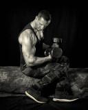 1st Place - Pumping Iron - by Dan Holowicki