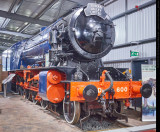 2-10-0 WD Austerity  No.600 at Highley Museum, SVR