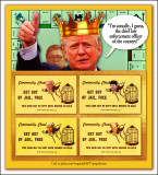 Trump Monopoly Game