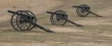 Union artillery on Henry Hill