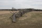Split-rail fences