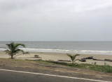 The empty beach, Libreville, Gabon