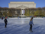 Ice skating and the National Archives