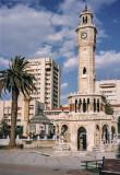 Izmir's famous clock tower