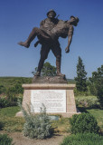 Commemoration of a Turkish soldier's compassion and bravery