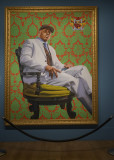 LL Cool J, oil on canvas by Kehinde Wiley, 2005