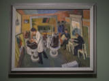 Experience America: 'In the Barber Shop,' Ilya Bolotowsky, 1934