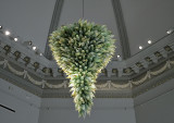 'Seafoam and Amber-Tipped Chandelier,' Dale Chihuly, 1994