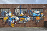 Untitled mural by Stom500