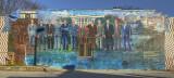 Mama Ayesha's Restaurant Presidential Mural