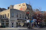 Now it's Marilyn watching over the city