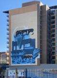 100K Apartments mural