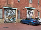 Blagden Alley garage doors