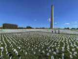 'In America: Remember.' Memorial to COVID victims