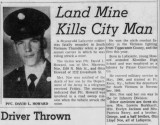 PFC David Howard - KIA 14 Sept. '67