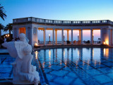 Hearst Castle after dark, 2003 - Reedited during the coronavirus pause, 2020