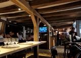 Sancerre; the restaurant, typical construction.