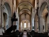 Sancerre; church's interior.