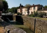 The lock (écluse) Négra's house; near Toulouse.