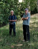 Michel Lajoie-Mazenc (left) and Jean Hector; they live in Toulouse area.