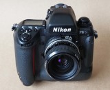 The mighty Nikon F5; considered, by many, as the most advanced professional film camera ever.