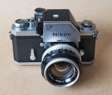 The Nikon F, with the Photomic FTn; one of the best cameras ever: solid, silent, robust and very precise.