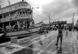 In the Manaus harbor.