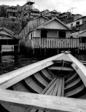 Houses on the Amazonas river banks.