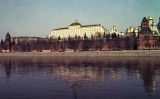 Moscow : the Kremlin and the Moskva river.