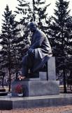 Moscow : Lenin's statue in the Kremlin.