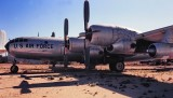 Aircrafts on Tucson (1998) and Dulles (2005) Museums