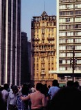 São Paulo downtown; the famous Martinelli Building.