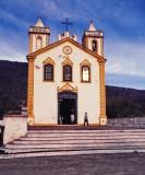Ribeirão da Ilha (approx. 1985); Igreja Nossa Senhora da Lapa.