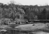 Akron, the Cuyahoga River park.