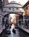 Venice pictured with slide film in 2002