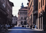 Bologna, Florence, Rome and Perugia photographed with 2002 film slides