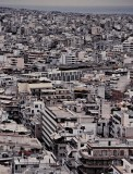 Athens; seen from the Parthenon area.