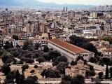 Athens; the Parthenon area.