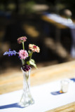 Wedding day table decor