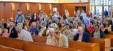 Church full of people