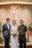 Jake, Heidi and Fr. Maro
