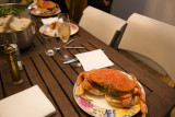 Fat crabs and Bubbly