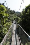 First hanging bridge