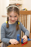 Johanna and her clay creations