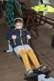 J on the rowing machine
