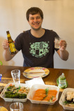 Happy with the Sushi feast