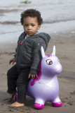 Unicorn and boy