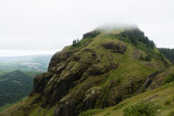 Saddle Mountain in the clouds