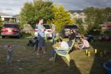 Backyard scene on the 4th