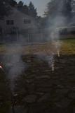Driveway fireworks